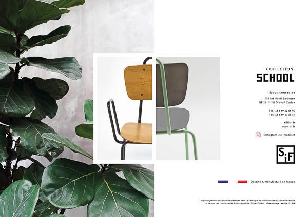 chaise mobilier restaurant france sur mesure industrielle photographie